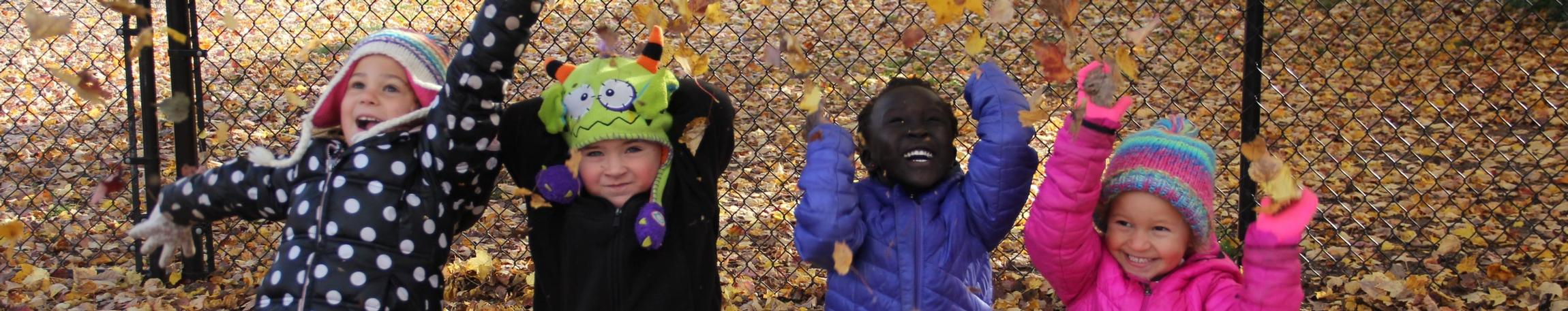 Early Childhood celebrating Fall!