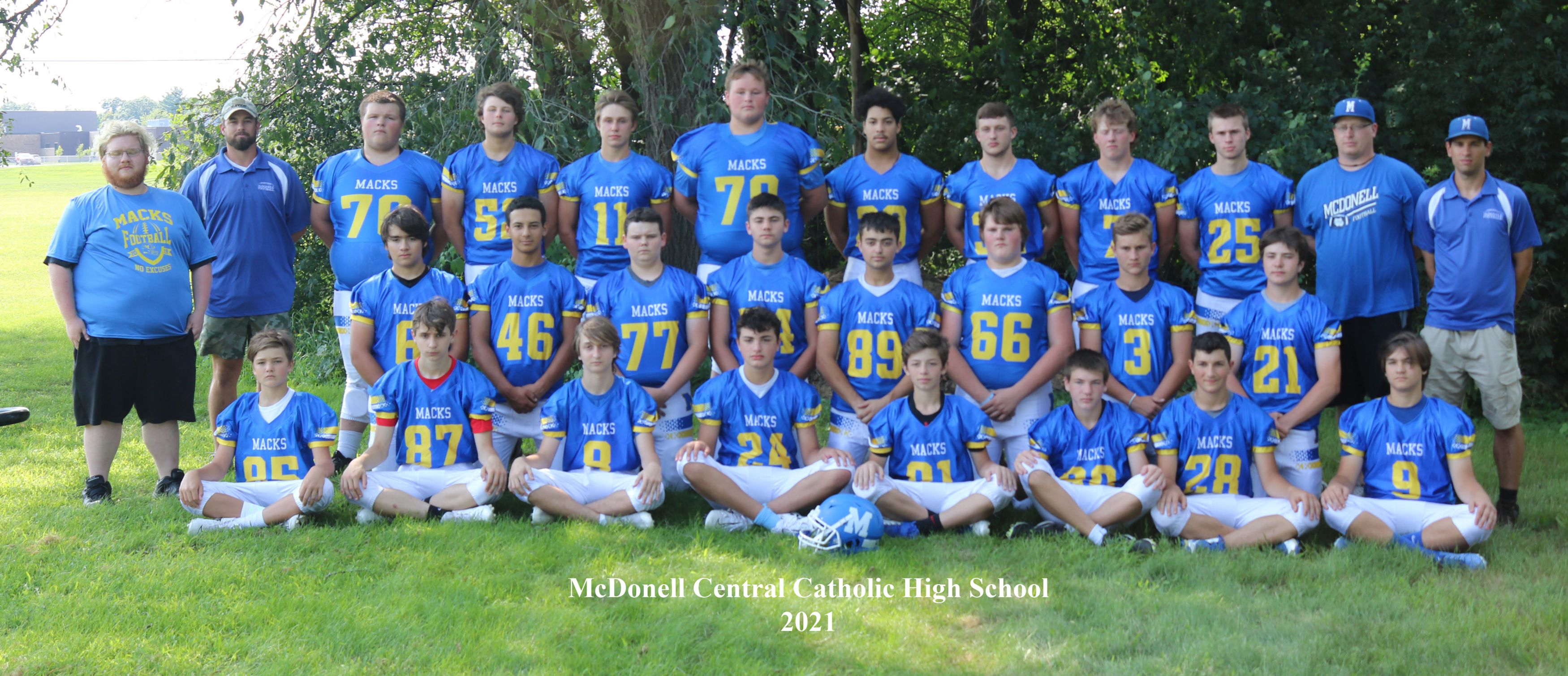 McDonell Central Catholic Football
