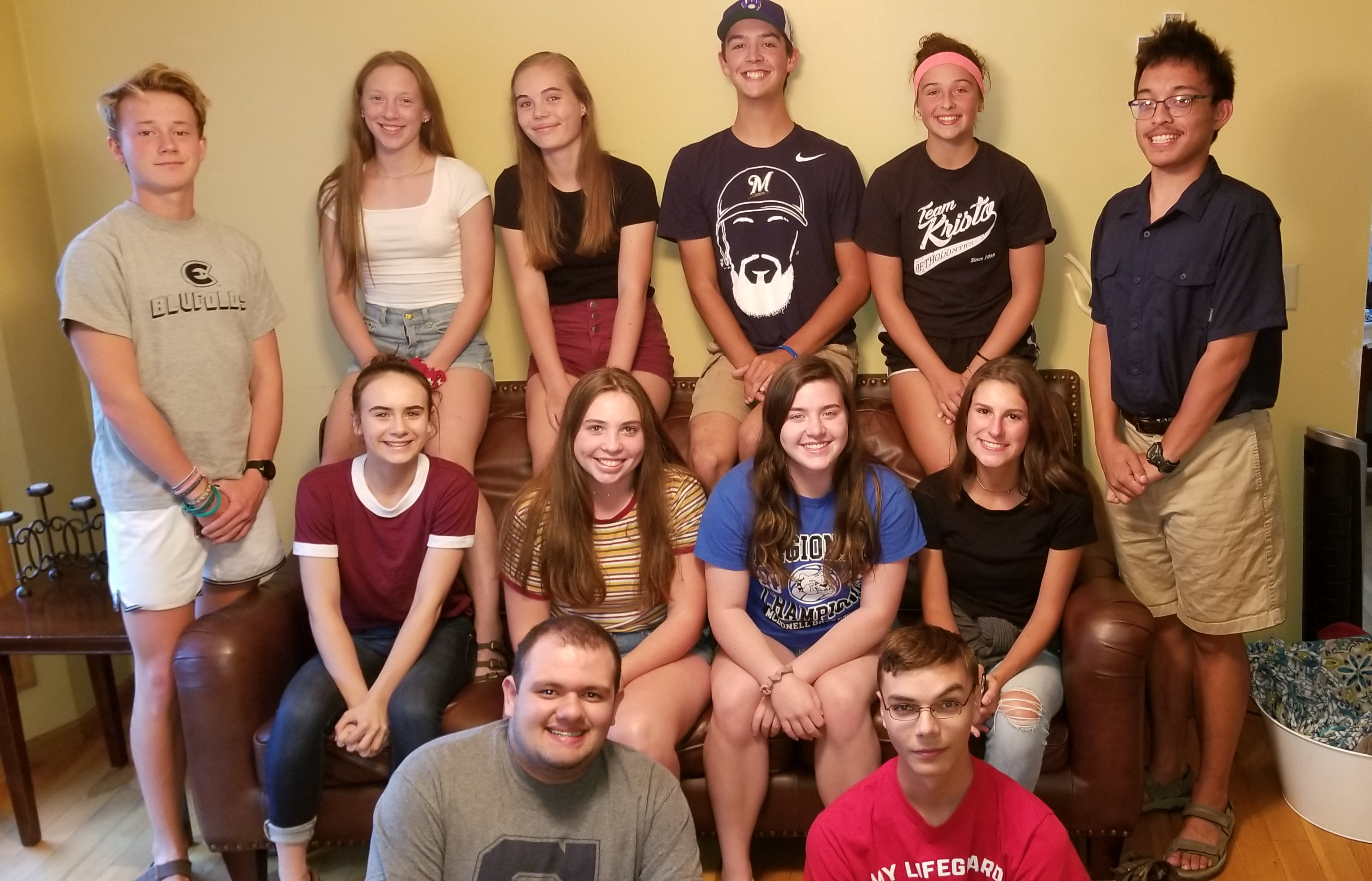 McDonell 2019-2020 Student Council