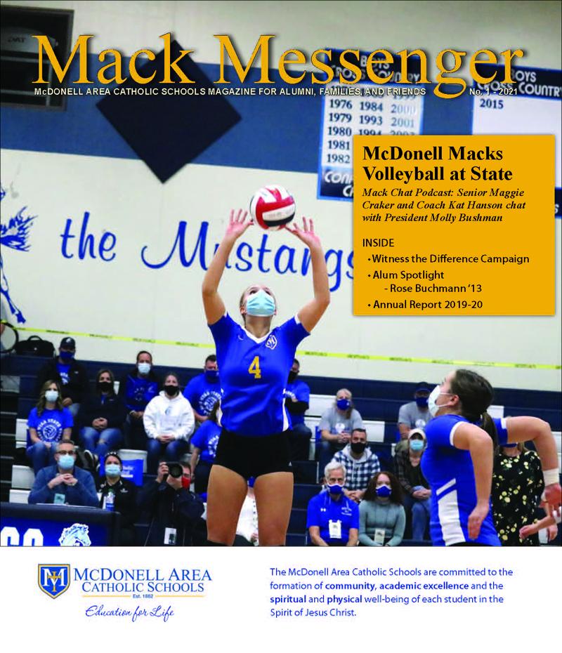 Mack Messenger No. 1 2021