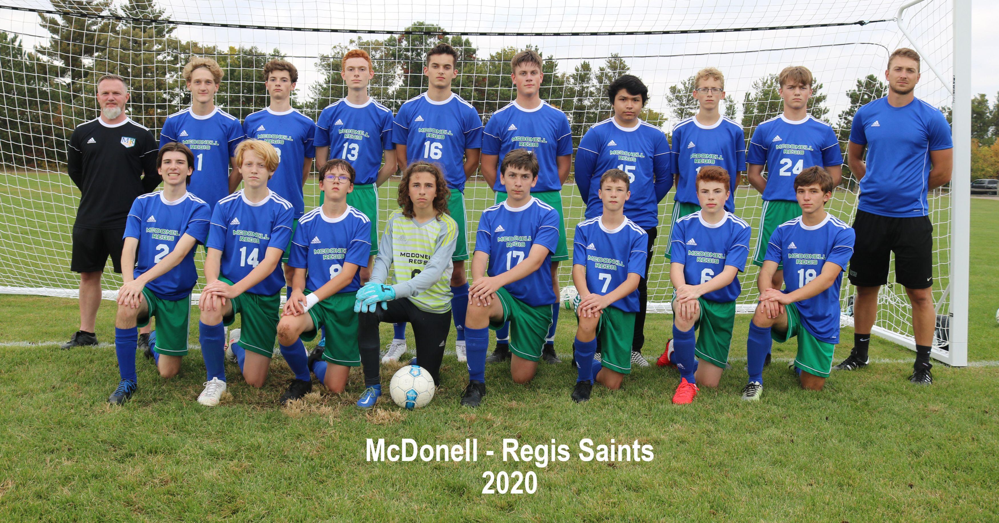Saints Soccer Team