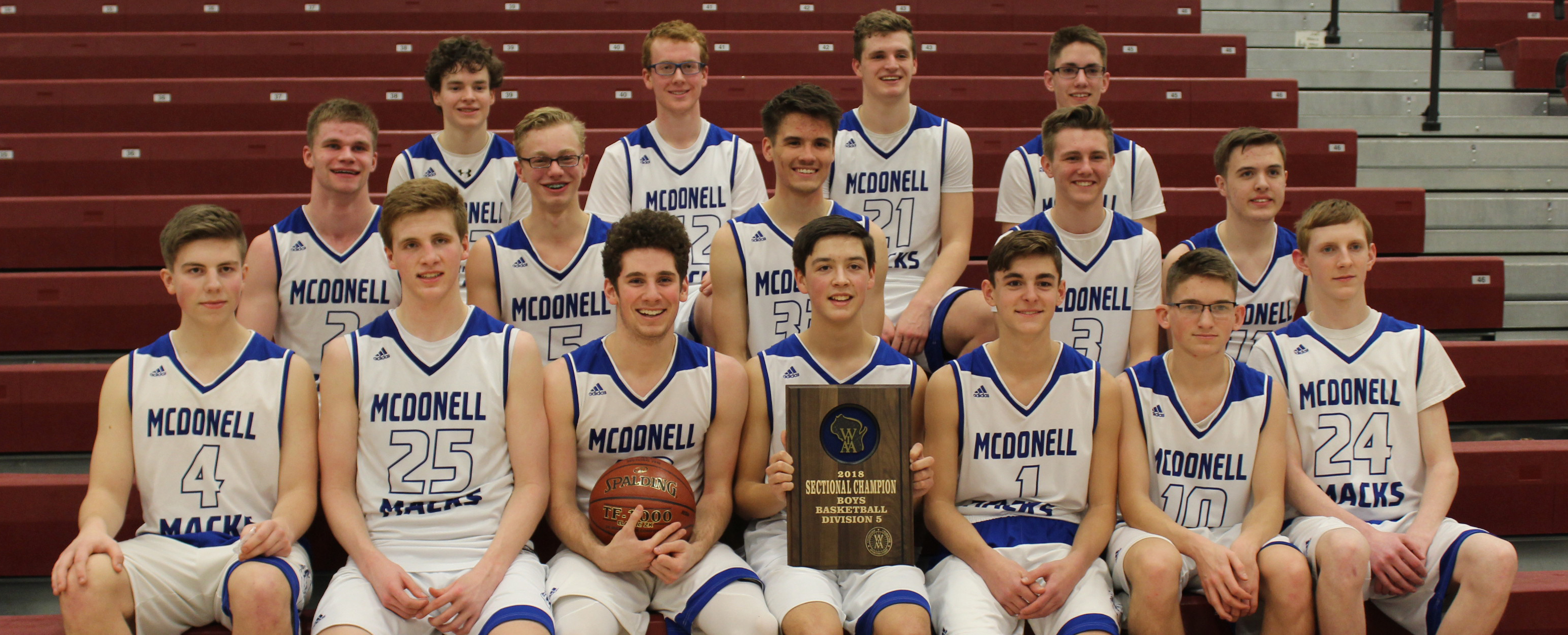 McDonell Boys heading to state!