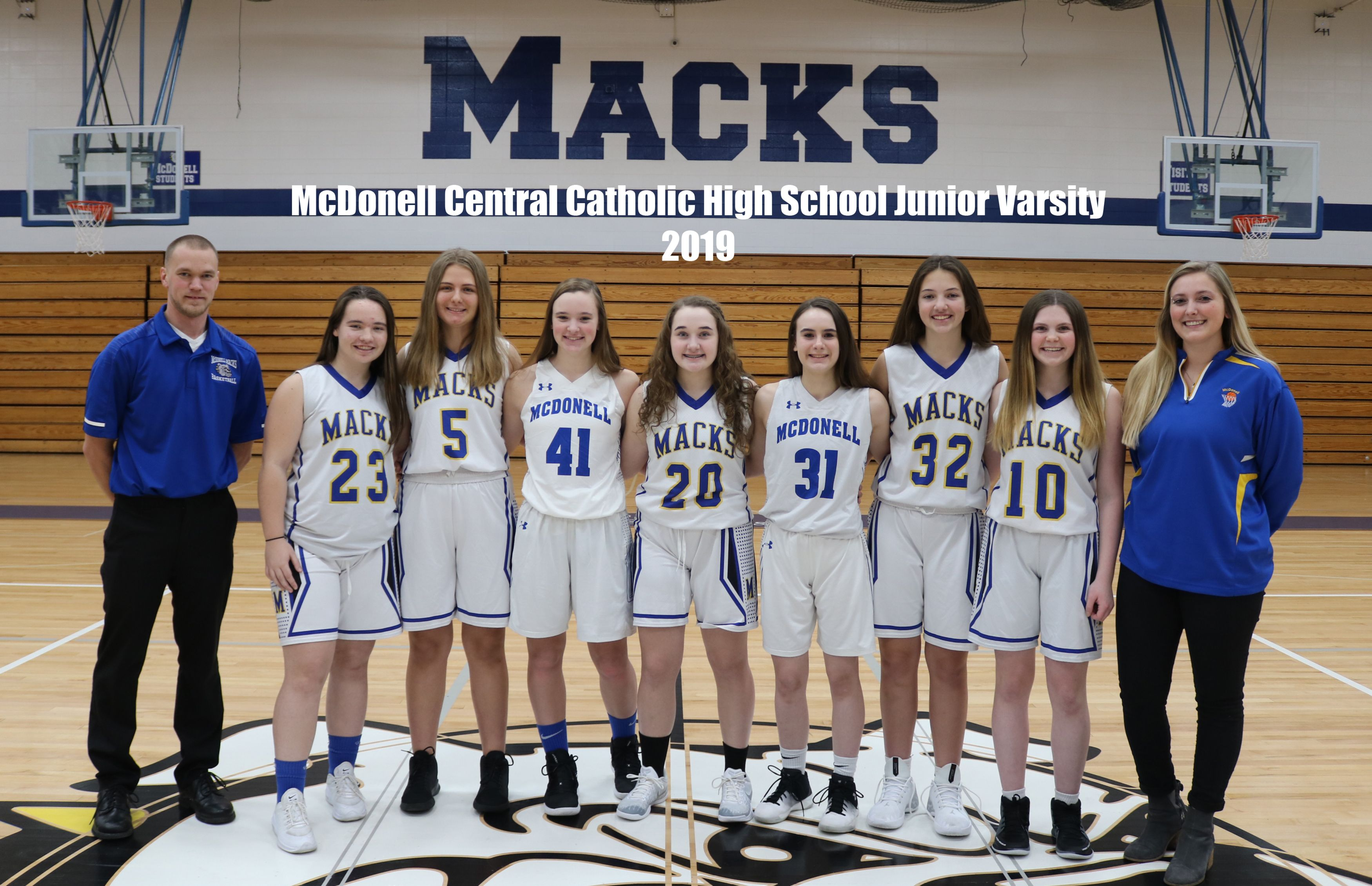 McDonell Girls Basketball JV