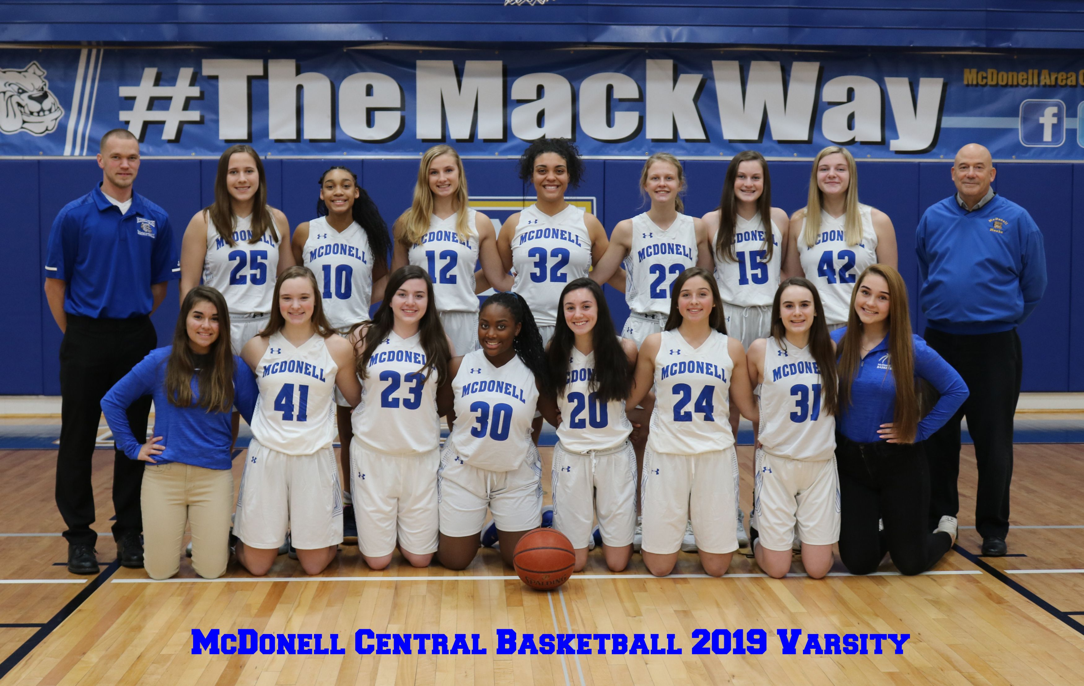McDonell Girls Varsity Basketball